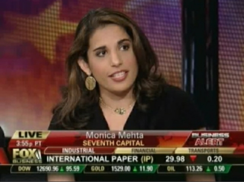 Monica Mehta Fox Business